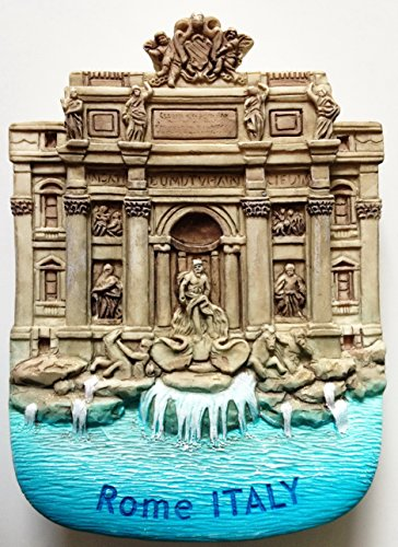 Trevi Fountain Rome Italy Resin 3D fridge Refrigerator Thai Magnet Hand Made Craft. by Thai MCnets