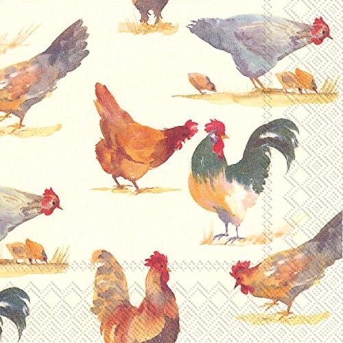 chicken paper napkins - 1