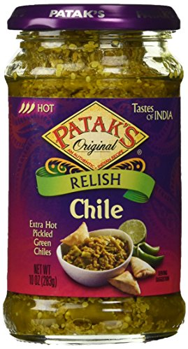 Pataks Pickle, Chilli, 10 Ounce ()