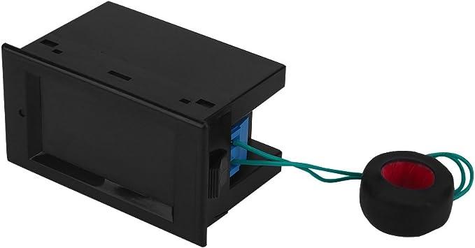 Generic DM55-1 Blue LCD Digital Voltage Meter Voltmeter LED AC 100-300V US Plug