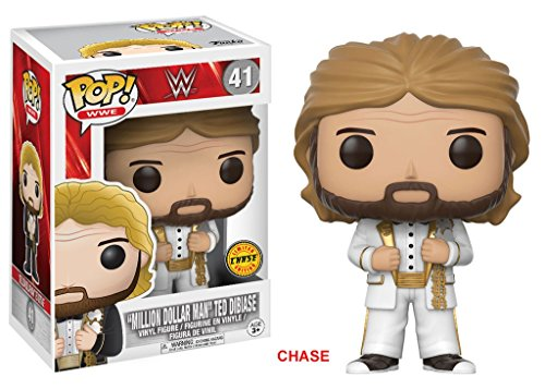 FunKo POP! WWE Million Dollar Man Ted DiBiase 3.75'' CHASE VARIANT Vinyl Figure by Dc True, Ltd.