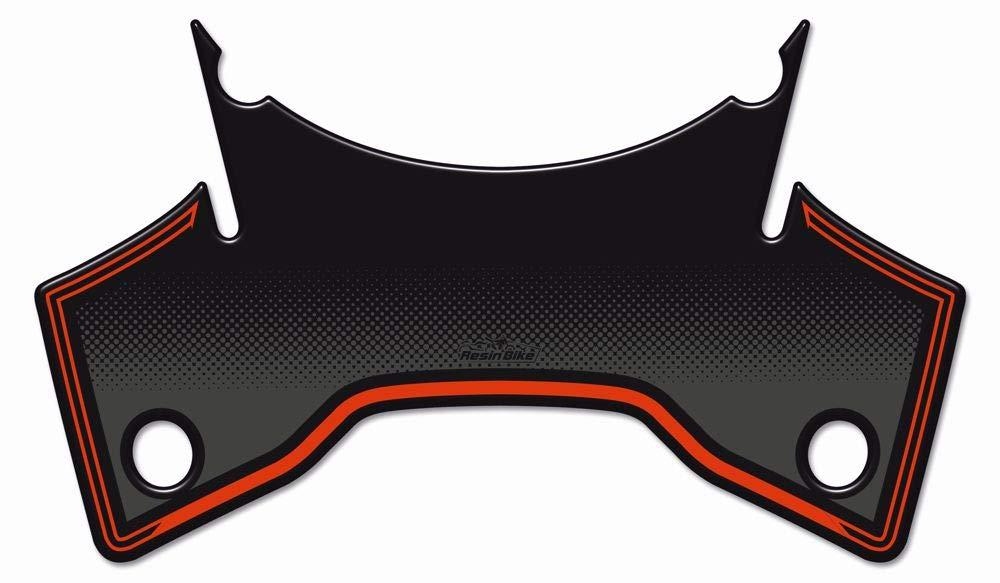 Color Naranja Sobre Negro Dise/ño de Superduke 1290 ziondesigns 2 Pegatinas para Moto