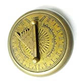 Artshai Gilbert Design magnetic compass cum time finder Sundial