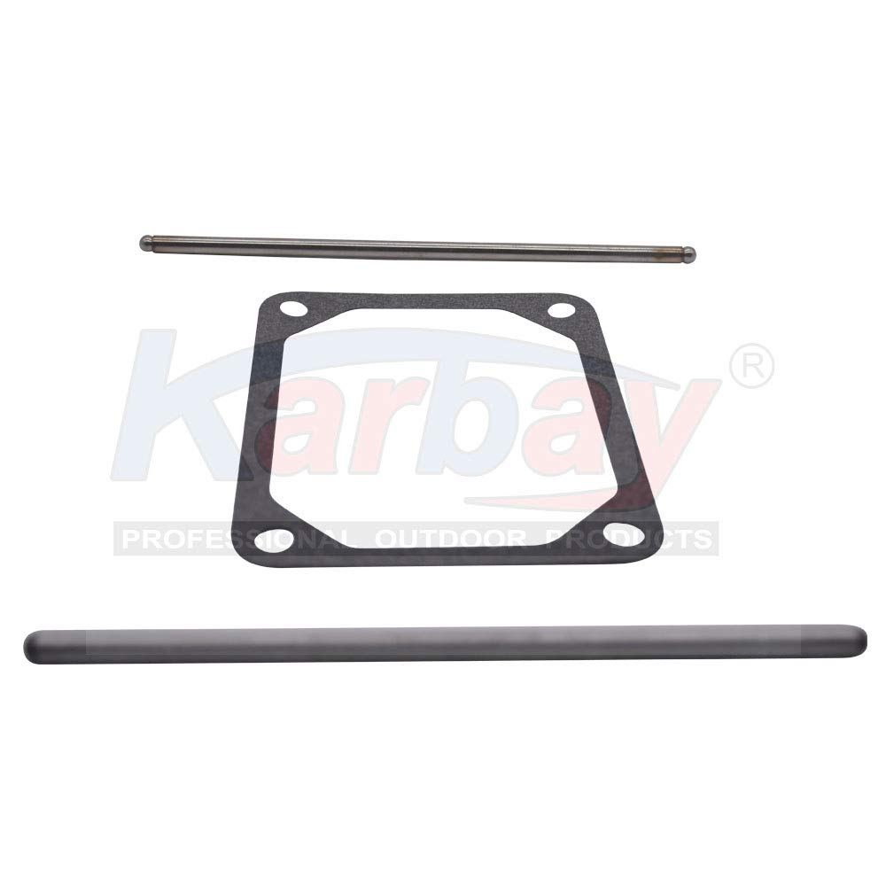 Karbay 690981 /& 690982 for Briggs /& Stratton Push Rods Set with 690971 Replacement Valve Cover Gasket