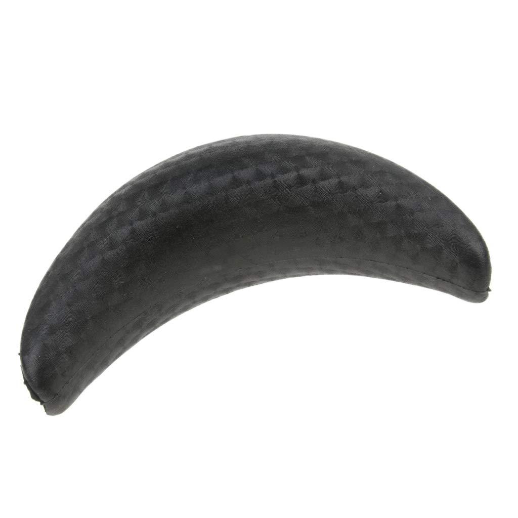 MonkeyJack Durable Soft Silicone Shampoo Bowl Neck Rest Cushion Salon Washing Backwash Accessory Black L Black