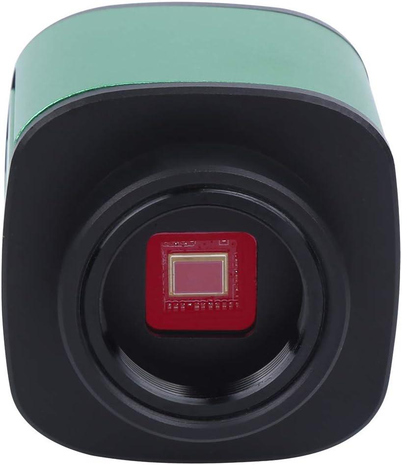 1080p HDMI Microscope Camera 24MP Handheld Camera Video Recorder USB Port Video Output C‑Mount Lens Light