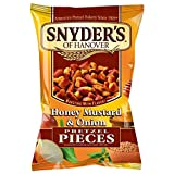 Snyder's Honey Mustard Onion Pretzel Pieces 125g - Pack of 2