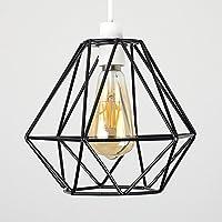 Vintage jaula alambre lámpara pantalla, motent Retro Industrial ...