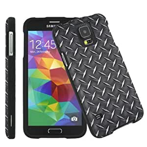 [ArmorXtreme] Samsung Galaxy S5 Total Protection Black Phone Cover Hard Case (Metal)