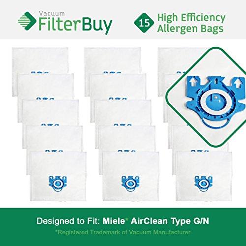 FilterBuy 15 Miele GN Compatible Vacuum Bags. Miele Parts #'