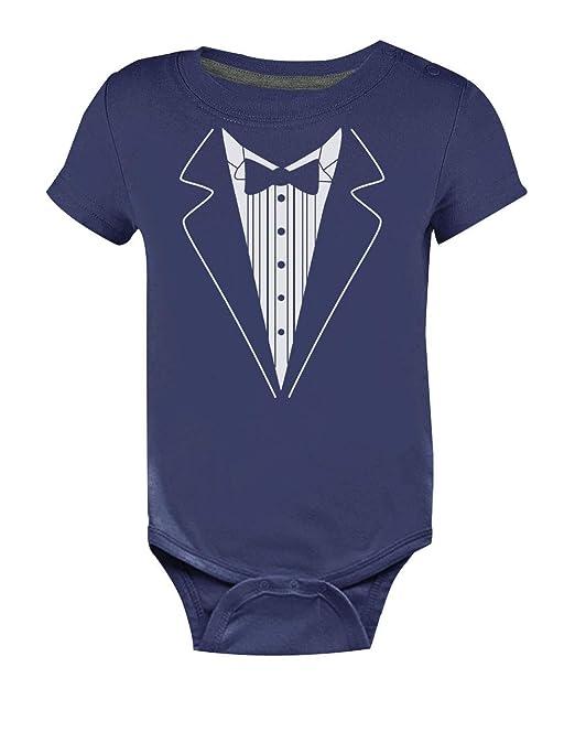Body de Manga Corta para bebé - Baby Tuxedo - Lindo Regalo para ...