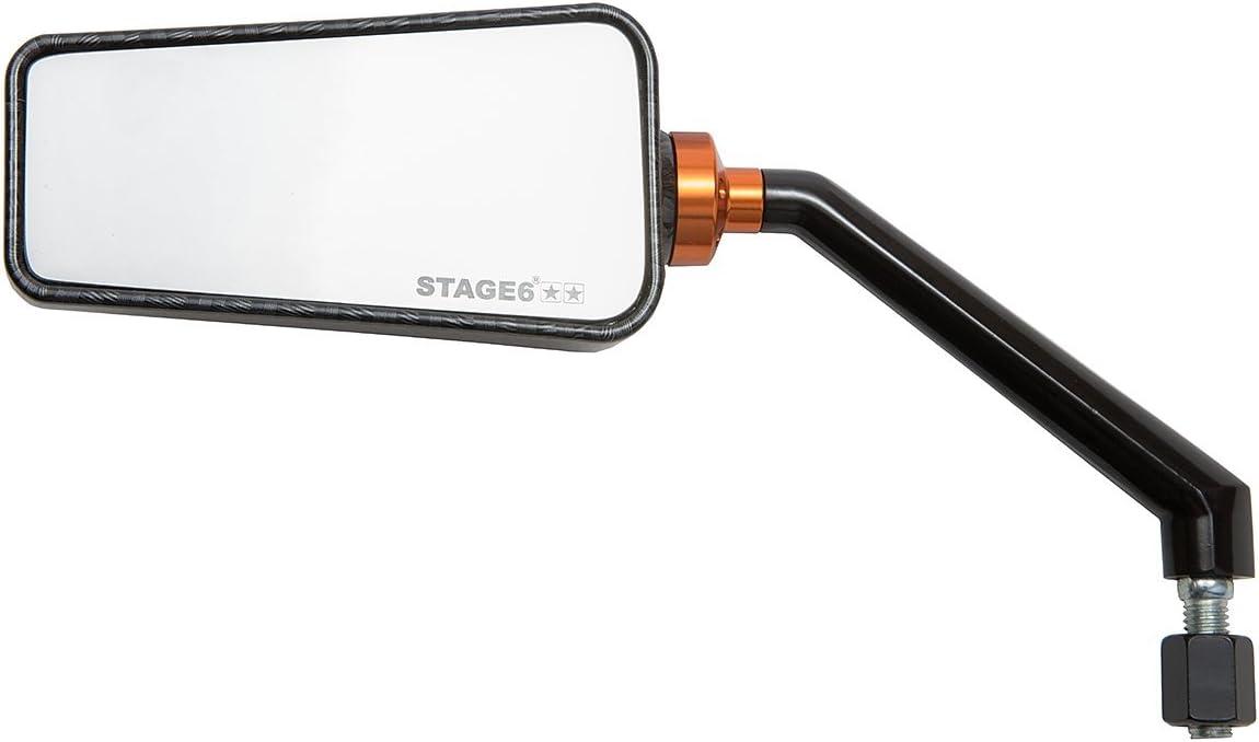 2x Spiegel Carbon Optik links + rechts für Peugeot Speedfight 2