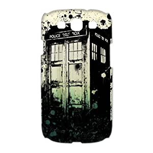 Every New Day Popular Police Call Box Doctor Who Tardis Unique Custom Samsung Galaxy S3 9300 Best Durable PVC Case