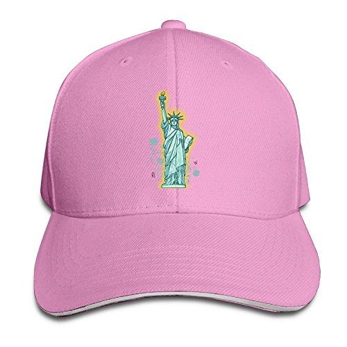 Statue Of Liberty Fitted Sandwish Hats Baseball Cap