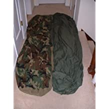 US Military Warm Weather Sleep System: Patrol Sleeping Bag and Water Resistant Bivy Cover