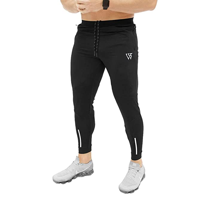 Men's Clothing Activewear Bottoms Discreet Mens Adidas Black Track Pants Running Sports Size Large Brand New Condition