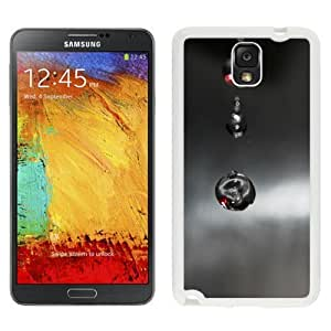 NEW Unique Custom Designed For Case Samsung Galaxy S5 Cover Phone Case With Macro Black Drops Falling_White Phone Case