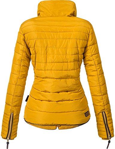 Guateada Chaqueta XXL XS Colores Marikoo de Invierno Mujer Amber para Amarillo 10 p6dq5Fxw
