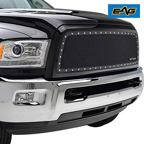 EAG 2013-2018 Dodge Ram 2500/3500 Grille Rivet Stainless Steel Wire Mesh Grill (Ram Dodge Grille Inserts)