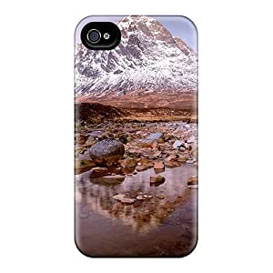 Protective Cases With Fashion Design For Iphone 6plus (beautiful Stream In A Mountain Plateau)