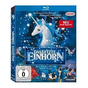 Das letzte Einhorn (inkl. Stickerbeilage) (Blu-ray)
