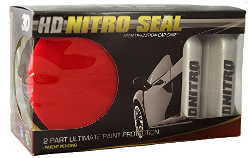 Hd Polisher (HD Nitro Seal Two Part Co-Polymer Paint Sealant System | Ultimate Paint Protection | Long Lasting High Shine | Easily Apply by Hand | Use on Cars, RVs & Boats)