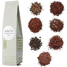 Nigiro Herbal Tea Experience Sampler Pack (8-teas)   2-Cups per Sample   Ultra Loose Tea Leaf Selection