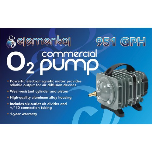 Elemental O2 Commercial Air Pump (951 Gph) by Elemental