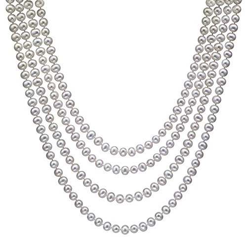 HinsonGayle-AAA-Handpicked-White-Freshwater-Cultured-Pearl-Rope-Necklace-82-Infinity-Strand
