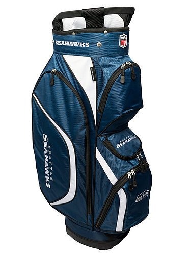 Seattle Seahawks Clubhouse Golf Cart Bag (Cart Golf Bag Seahawks Seattle)