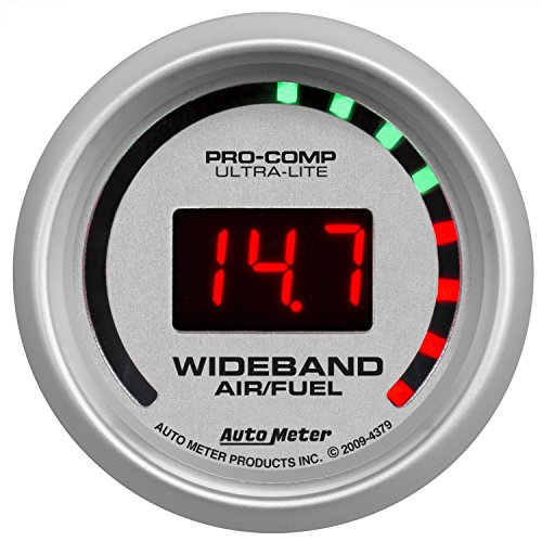 Auto Meter 4379 Ultra-Lite Wide Band Air Fuel Ratio Kit (Band Gauge Kit Wide)