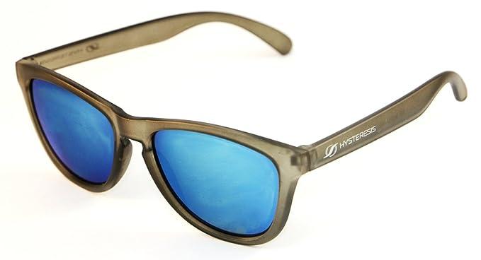 HYSTERESIS - Santorini - Gafas De Sol Wayfarer Gris Con ...