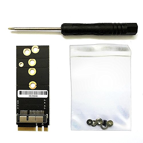 Huyun Bcm94360cs2 Bcm943224pciebt2 Card To Ngff M 2  Key A E Adapter For Mac Os And Hackintosh
