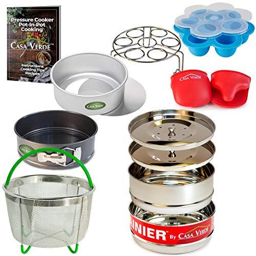 12 Piece Instant Pot Accessory Set Deluxe Pak | Fits 6 & 8 Q