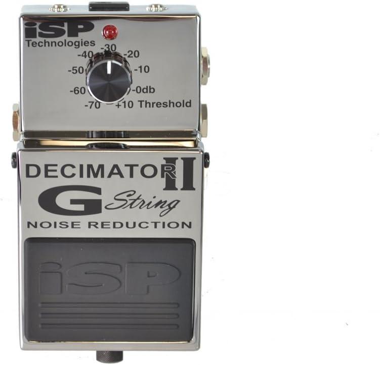 ISP Technologies Decimator II G String Noise Reduction Noise Gate Effect Pedal