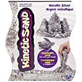 Kinetic Sand, Shimmering Metallic Silver 1lb Pack, for Ages 3 and Up