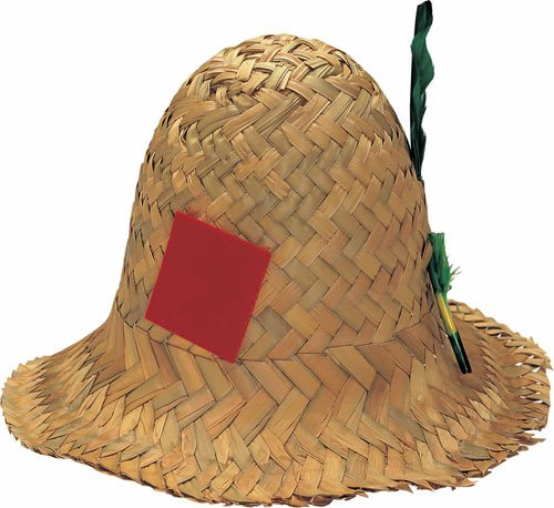Straw Scarecrow Hat (Rubie's Costume Co Straw Hillbilly Hat)