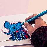 Pentel Color Marker Set, Fine Fiber Tip, Assorted