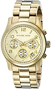 Michael Kors Women's MK5055 Runway Gold-Tone Watch