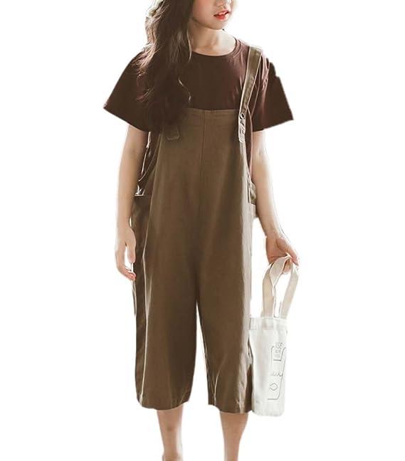 hellomiko Pantaloni tuta da bambino Pantaloni tuta Jeans Bambini Harlan Pantaloni  larghi Hip Hop Bretelle per ragazzi e ragazze  Amazon.it  Abbigliamento 29dabe609b0