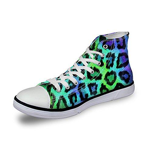 ThiKin スニーカー キャンバス メンズ 帆布 個性的 柄 カジュアル 靴 シューズ 3Dプリント 個性的 軽量 通気 おしゃれ ファッション 通勤 通学 プレゼント