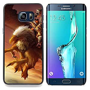 "For Samsung Galaxy S6 Edge Plus / S6 Edge+ G928 Case , Águila Pc Juego del misterio del pájaro gigante Gamer"" - Diseño Patrón Teléfono Caso Cubierta Case Bumper Duro Protección Case Cover Funda"