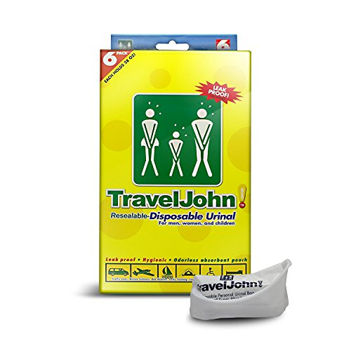 Travel John TravelJohn Disposable Urinal pack product image