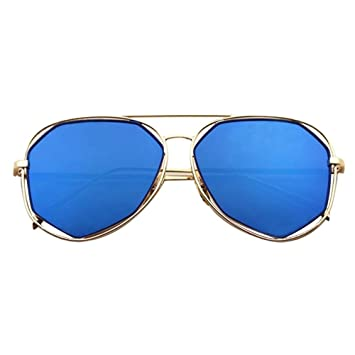 Pawaca Damen Sonnenbrille blau blau 2akLoC7aJ