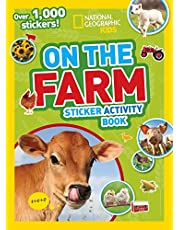 National Geographic Kids On the Farm Sticker Activity Book: Over 1,000 Stickers!
