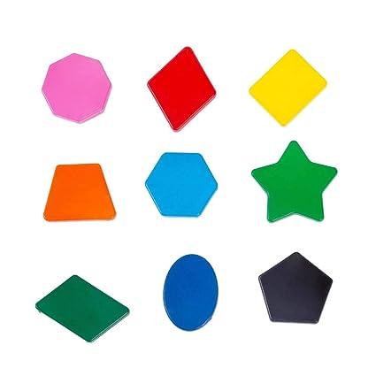 Stobok 9 Stücke Sechs Farben Malen Buntstifte Polygon Form