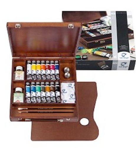 Van Gogh Oil Inspiration Wooden Box Set by Van Gogh