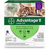 Bayer Advantage II Flea Prevention Large Cats, over 9 lbs, 4 doses