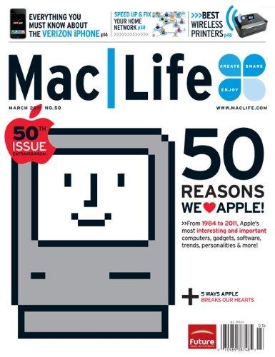 Mac Life MacLife MacLife Magazine No. 50 March 2011 PDF