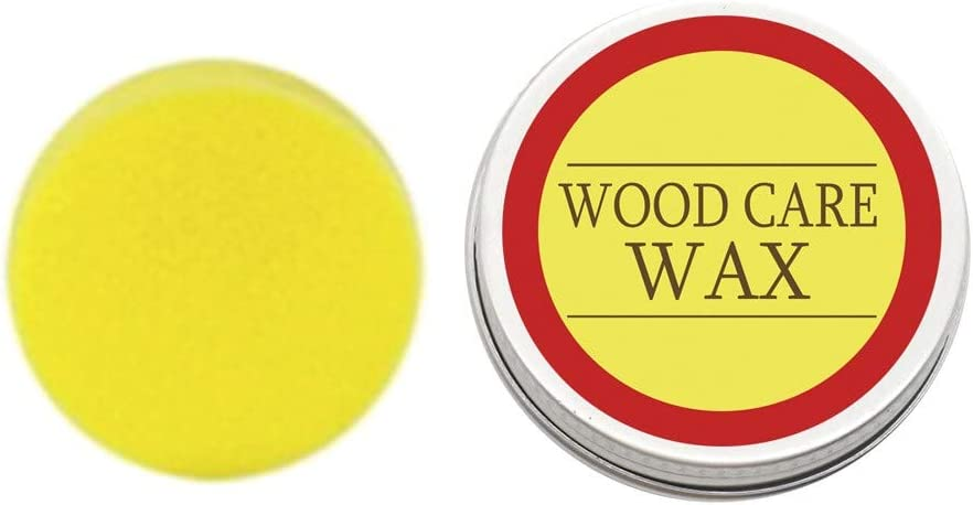 Wood Seasoning Beewax Multipurpose All Natural Beeswax - Furniture Care Beeswax Polish,Home Cleaning Beeswax for Furniture,Cutting Board, Bowl and Housewar,Waterproof and Wear-Resistant (200g)